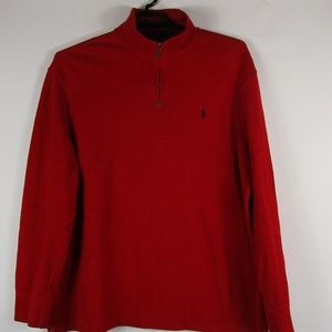 Polo Ralph Lauren Men's XL 1/4 Quarter Zip Pull Ov